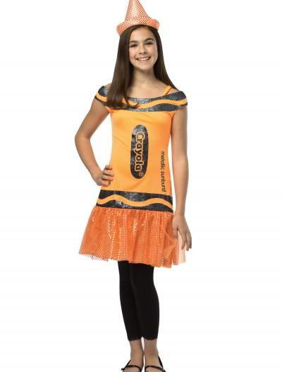 Tween Crayola Metallic Sunburst Glitz Dress, halloween costume (Tween Crayola Metallic Sunburst Glitz Dress)