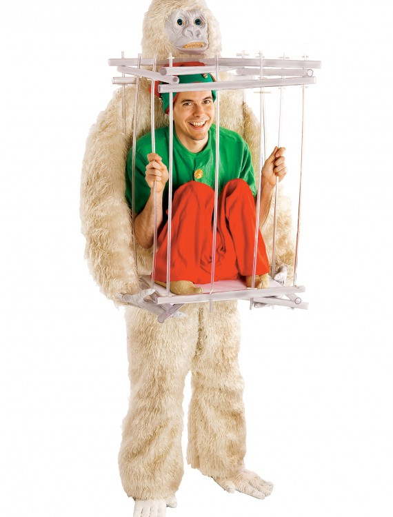 Abominable Snowman & Cage Costume Kit, halloween costume (Abominable Snowman & Cage Costume Kit)