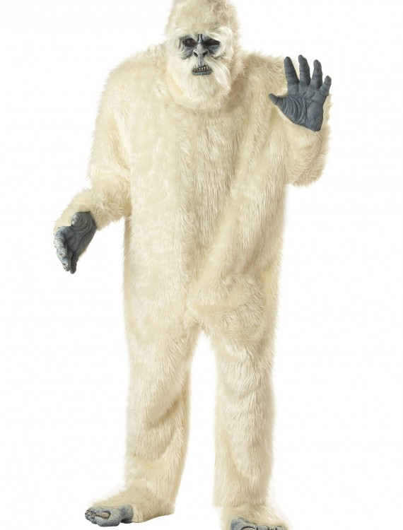 Plus Size Abominable Snowman Costume, halloween costume (Plus Size Abominable Snowman Costume)