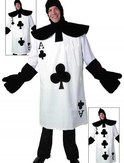 Ace of Clubs Card Costume, halloween costume (Ace of Clubs Card Costume)