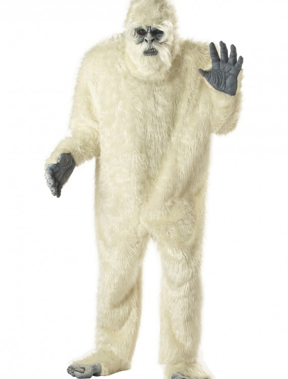 Adult Abominable Snowman Costume, halloween costume (Adult Abominable Snowman Costume)