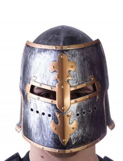 Adult Adjustable Medieval Helmet, halloween costume (Adult Adjustable Medieval Helmet)