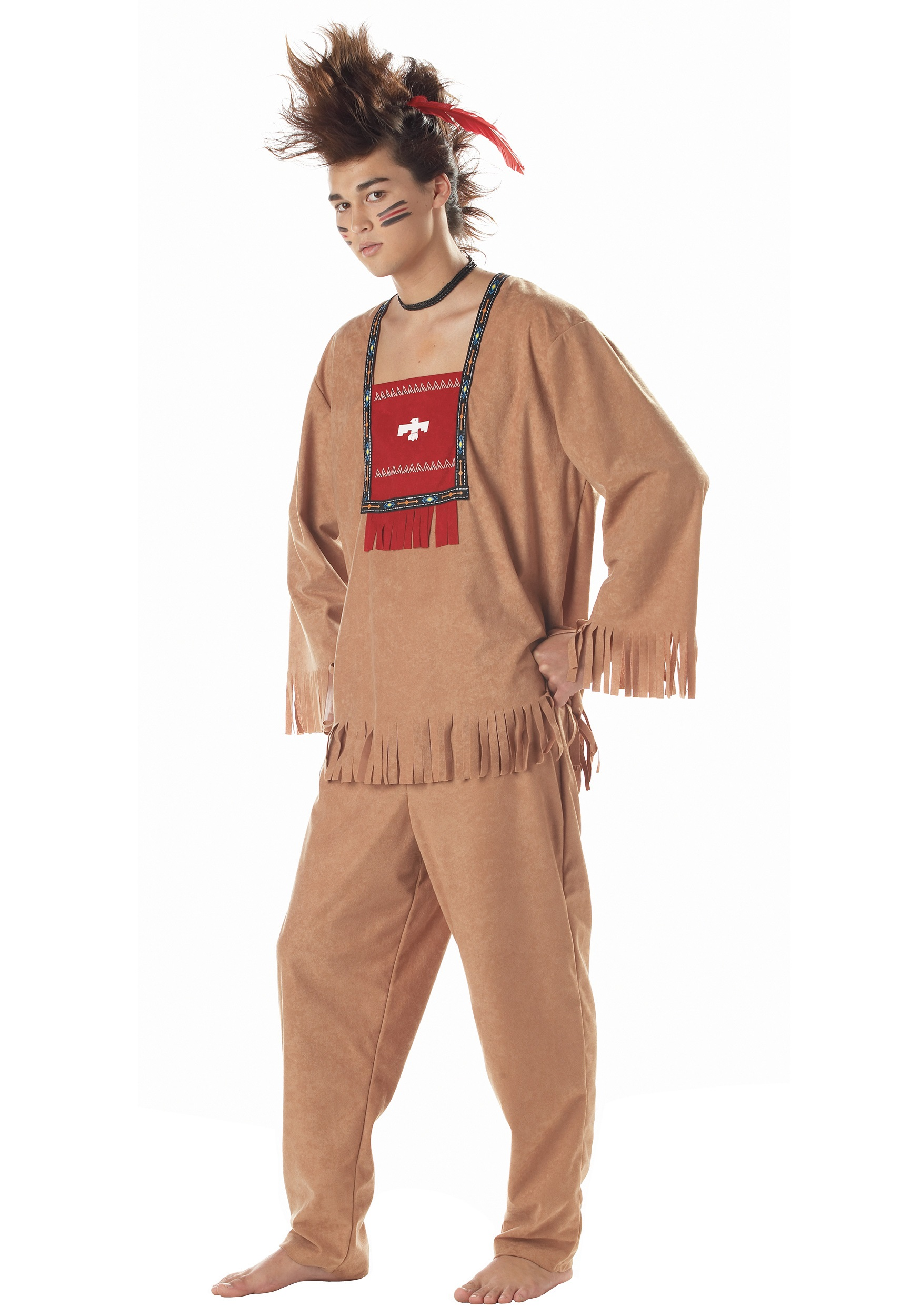 Adult American Indian Costume  sc 1 st  Halloween Costumes & Adult American Indian Costume - Halloween Costumes