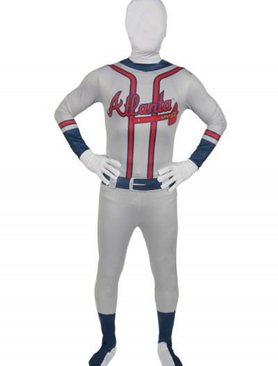 Adult Atlanta Braves Skin Suit, halloween costume (Adult Atlanta Braves Skin Suit)