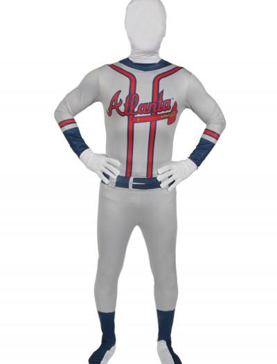 Adult Atlanta Braves Skin Suit, halloween costume (Adult Atlanta Braves Skin Suit)