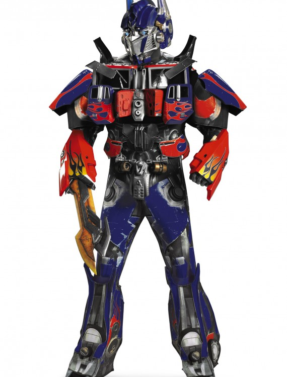 Adult Authentic Optimus Prime Costume, halloween costume (Adult Authentic Optimus Prime Costume)