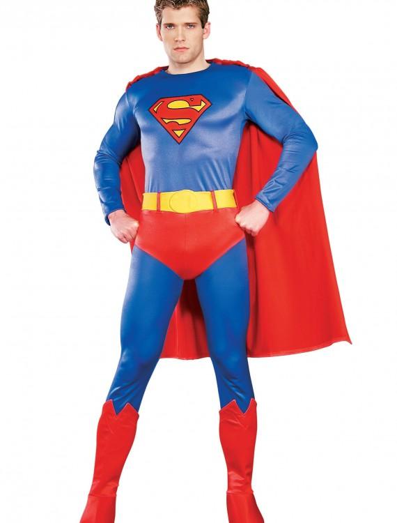 Adult Authentic Superman Costume, halloween costume (Adult Authentic Superman Costume)