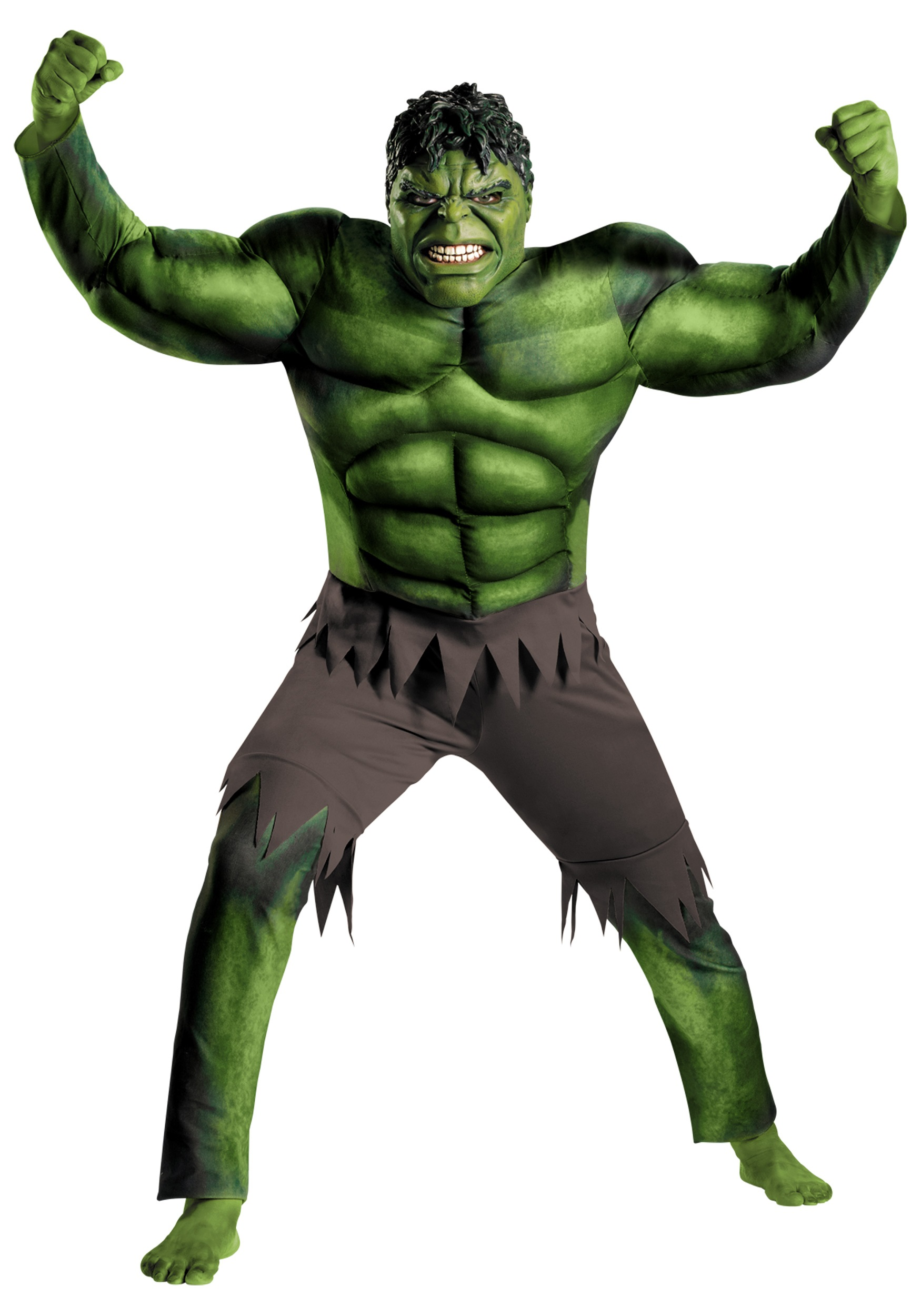 Adult Avengers Hulk Muscle Costume  sc 1 st  Halloween Costumes & Adult Avengers Hulk Muscle Costume - Halloween Costumes