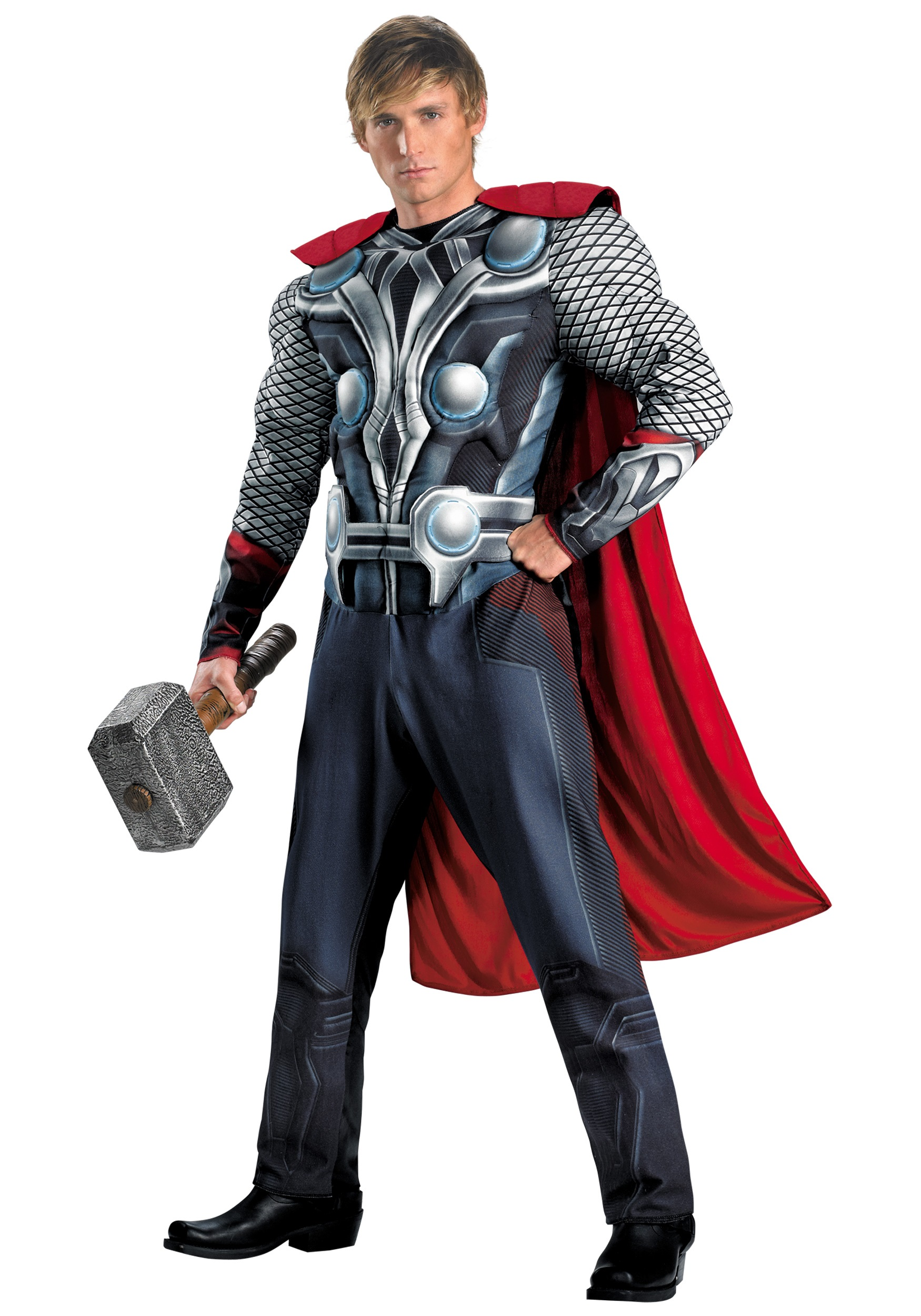 Adult Avengers Thor Muscle Costume  sc 1 st  Halloween Costumes & Adult Avengers Thor Muscle Costume - Halloween Costumes