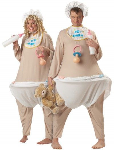 Adult Baby Costume, halloween costume (Adult Baby Costume)