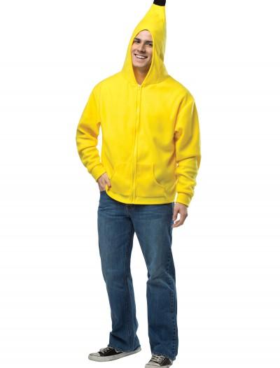 Adult Banana Hoodie, halloween costume (Adult Banana Hoodie)
