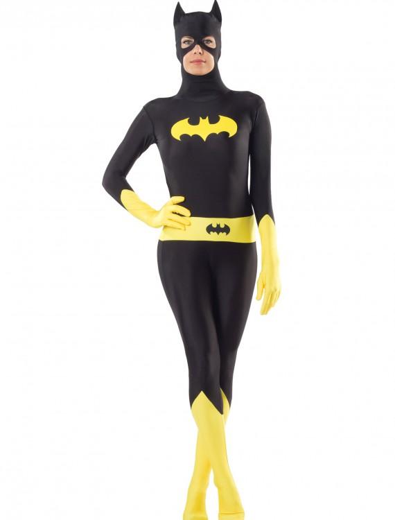 Adult Batgirl Bodysuit, halloween costume (Adult Batgirl Bodysuit)