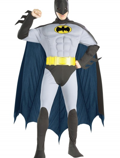 Adult Batman Muscle Costume, halloween costume (Adult Batman Muscle Costume)