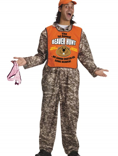 Adult Beaver Hunter Costume, halloween costume (Adult Beaver Hunter Costume)
