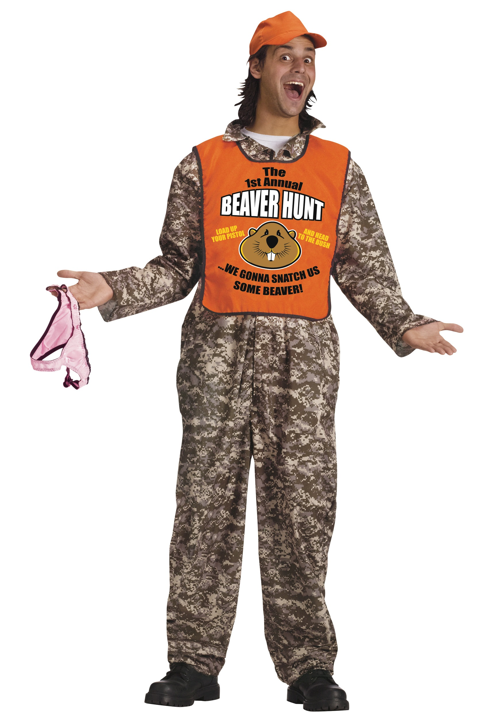 Adult Beaver Hunter Costume  sc 1 st  Halloween Costumes & Adult Beaver Hunter Costume - Halloween Costumes