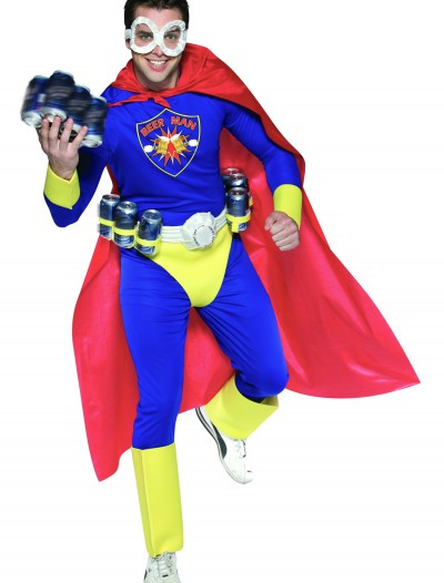 Adult Beer Man Costume, halloween costume (Adult Beer Man Costume)
