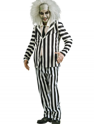 Adult Beetlejuice Costume, halloween costume (Adult Beetlejuice Costume)