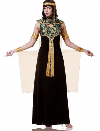 Adult Black and Teal Cleopatra Costume, halloween costume (Adult Black and Teal Cleopatra Costume)