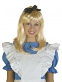 Adult Blonde Alice Wig, halloween costume (Adult Blonde Alice Wig)