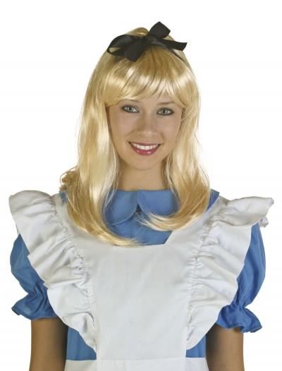 Adult Blonde Alice Wig, halloween costume (Adult Blonde Alice Wig)