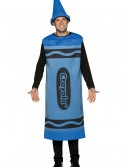 Adult Blue Crayon Costume, halloween costume (Adult Blue Crayon Costume)