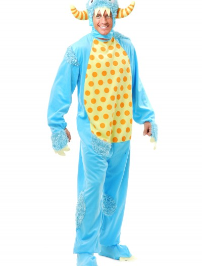 Adult Blue Monster Costume, halloween costume (Adult Blue Monster Costume)