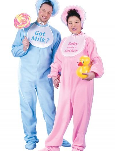 Adult Blue Pajamas Costume, halloween costume (Adult Blue Pajamas Costume)