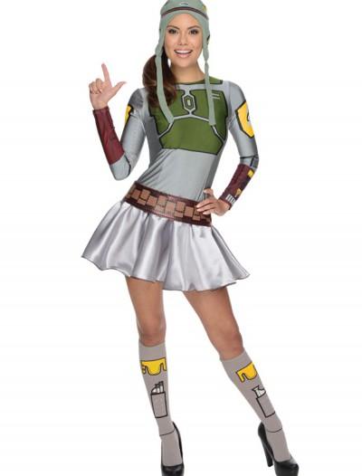 Adult Boba Fett Dress Costume, halloween costume (Adult Boba Fett Dress Costume)