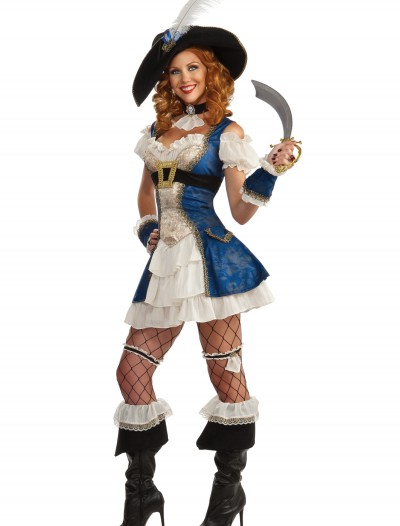 Adult Bonnie Blue Pirate Costume, halloween costume (Adult Bonnie Blue Pirate Costume)