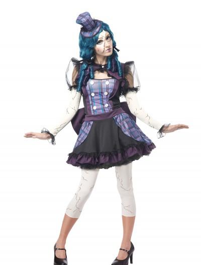 Adult Broken Doll Costume, halloween costume (Adult Broken Doll Costume)