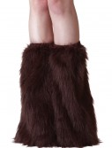 Adult Brown Furry Boot Covers, halloween costume (Adult Brown Furry Boot Covers)