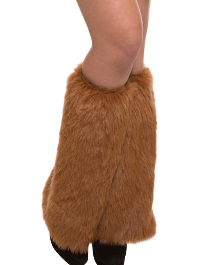 Adult Brown Furry Leg Warmers, halloween costume (Adult Brown Furry Leg Warmers)