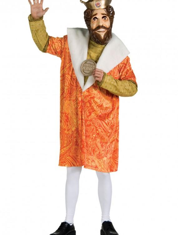 Adult Burger King Costume, halloween costume (Adult Burger King Costume)