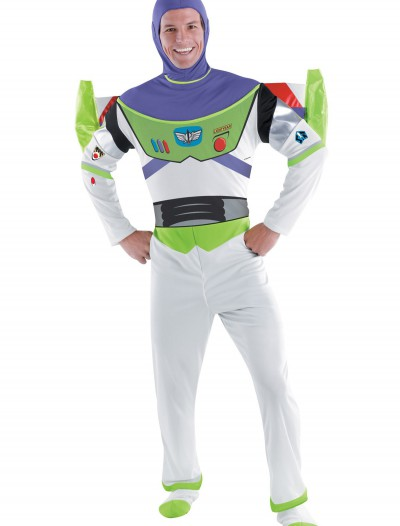 Adult Buzz Lightyear Costume, halloween costume (Adult Buzz Lightyear Costume)