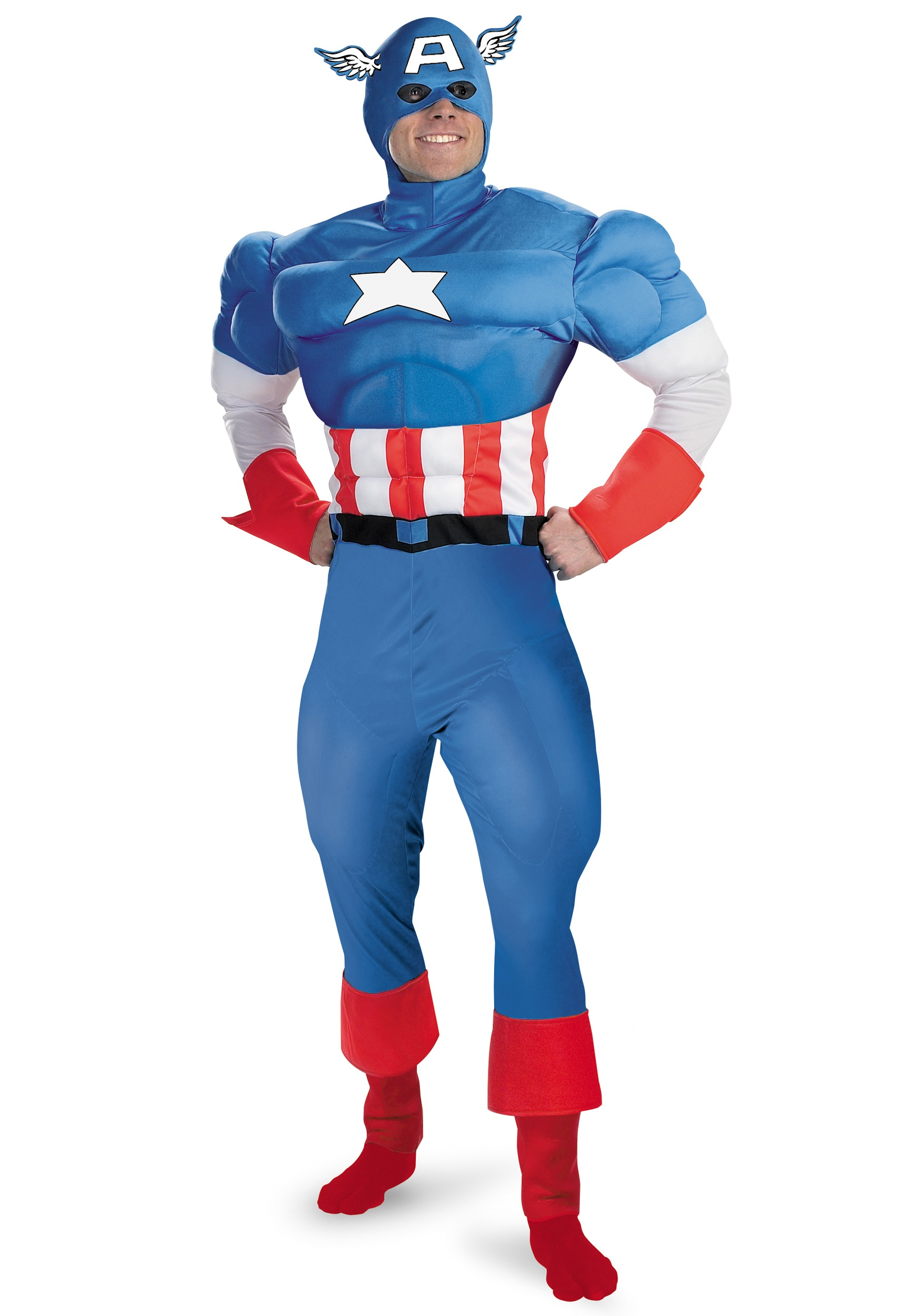 Captain America Costume  sc 1 st  Halloween Costumes & Captain America Costume - Halloween Costumes