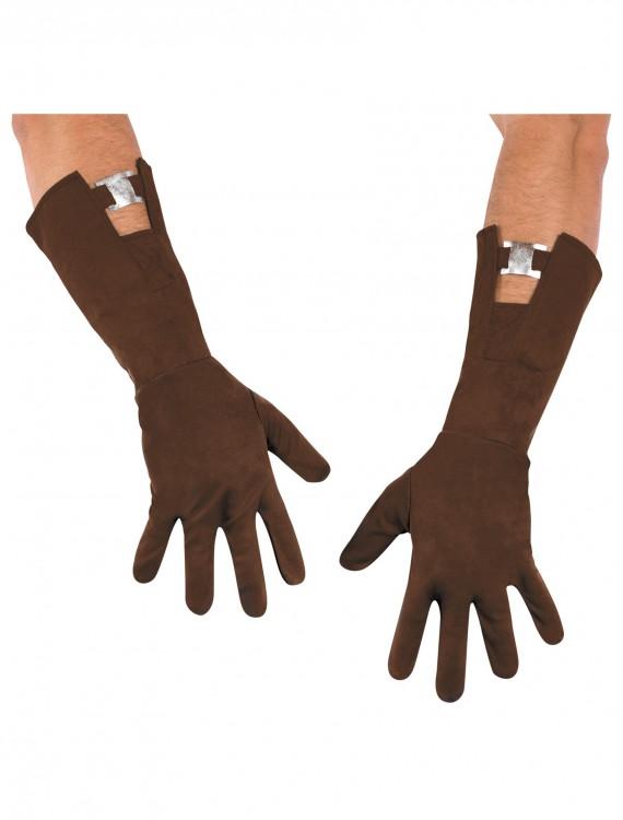 Adult Captain America Gloves, halloween costume (Adult Captain America Gloves)
