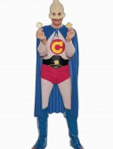Adult Captain Condom Costume, halloween costume (Adult Captain Condom Costume)