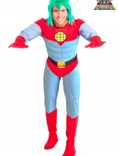 Adult Captain Planet Costume, halloween costume (Adult Captain Planet Costume)