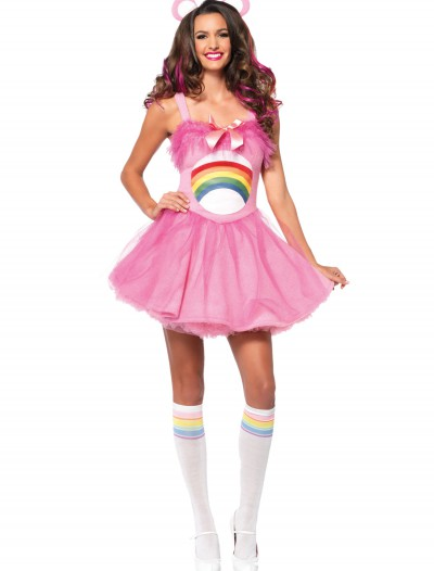 Adult Care Bears Cheer Bear Costume, halloween costume (Adult Care Bears Cheer Bear Costume)