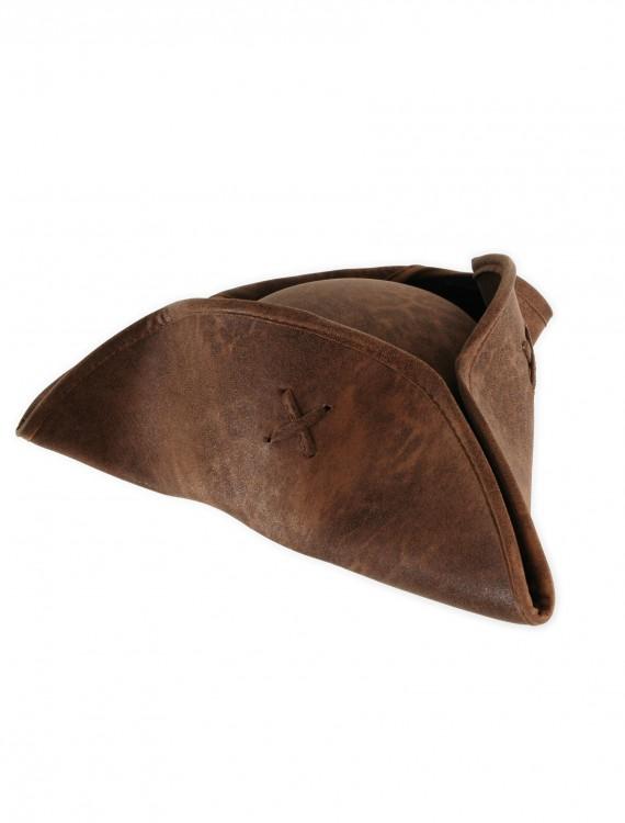 Adult Caribbean Pirate Hat, halloween costume (Adult Caribbean Pirate Hat)