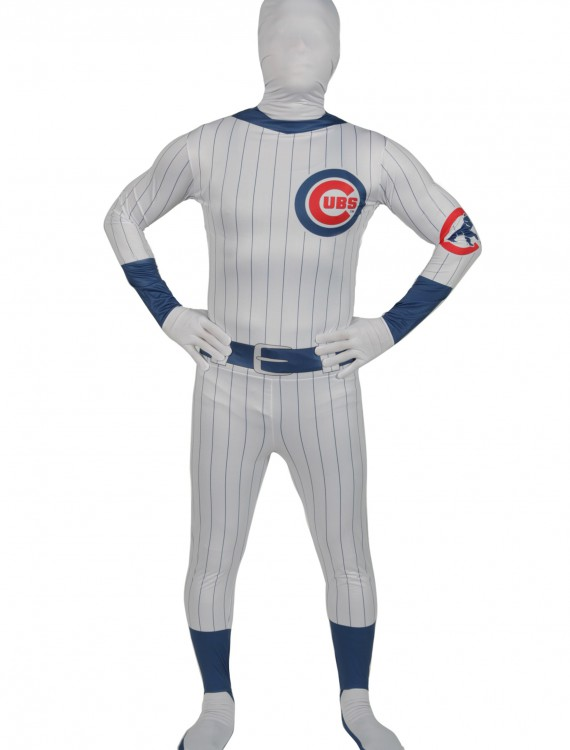 Adult Chicago Cubs Skin Suit, halloween costume (Adult Chicago Cubs Skin Suit)