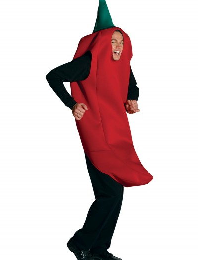 Adult Chili Pepper Costume, halloween costume (Adult Chili Pepper Costume)