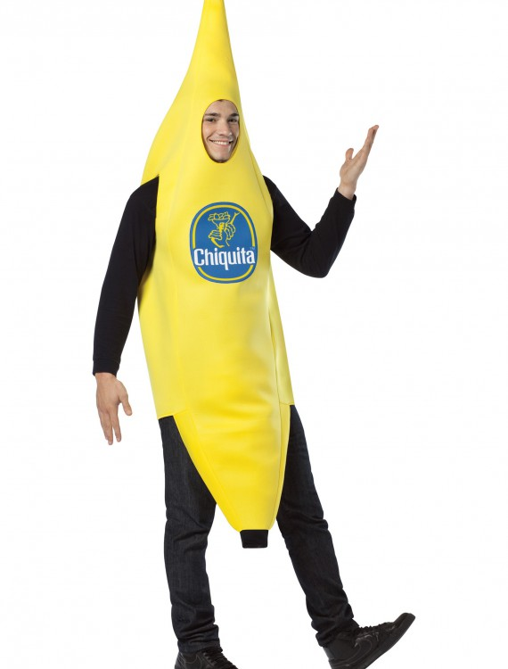 Adult Chiquita Banana Costume, halloween costume (Adult Chiquita Banana Costume)