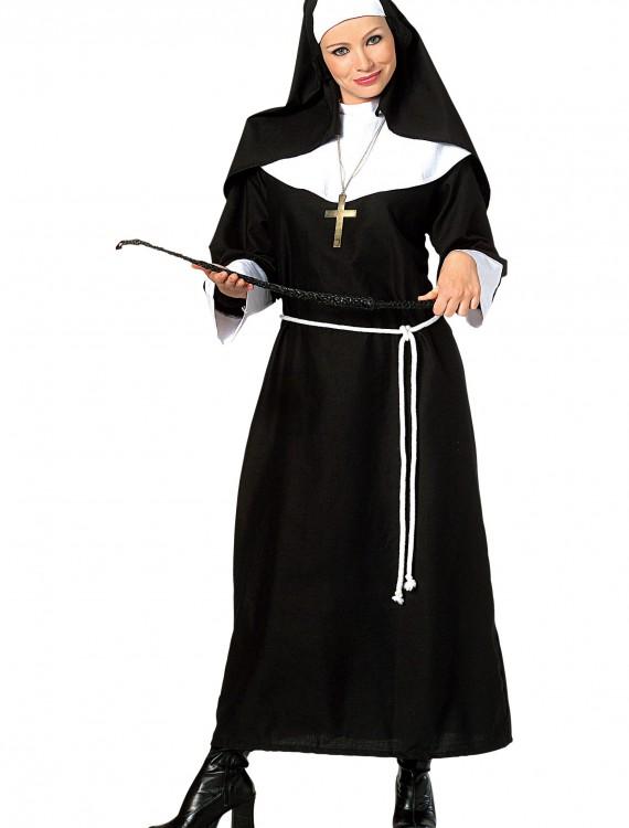 Adult Classic Nun Costume, halloween costume (Adult Classic Nun Costume)