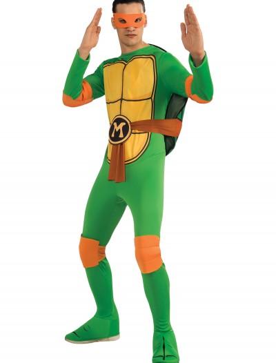Adult Classic TMNT Michelangelo Costume, halloween costume (Adult Classic TMNT Michelangelo Costume)