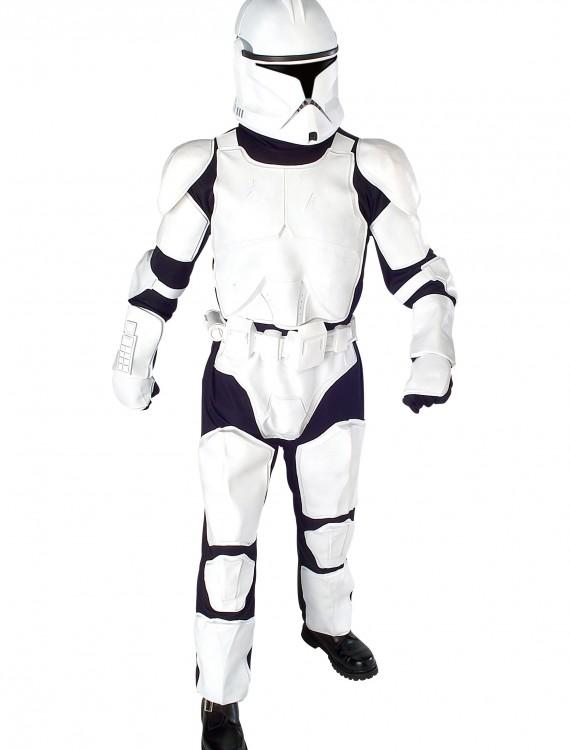 Adult Clone Trooper Deluxe - Episode II, halloween costume (Adult Clone Trooper Deluxe - Episode II)