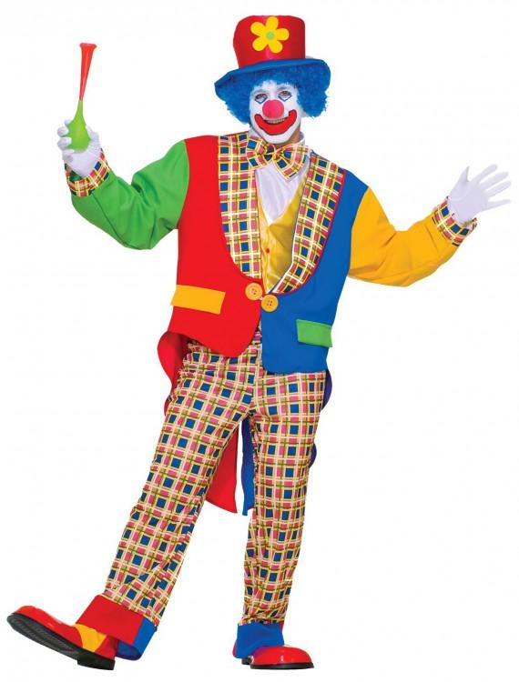 Adult Clown Costume, halloween costume (Adult Clown Costume)
