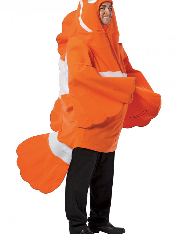 Adult Clownfish Costume, halloween costume (Adult Clownfish Costume)