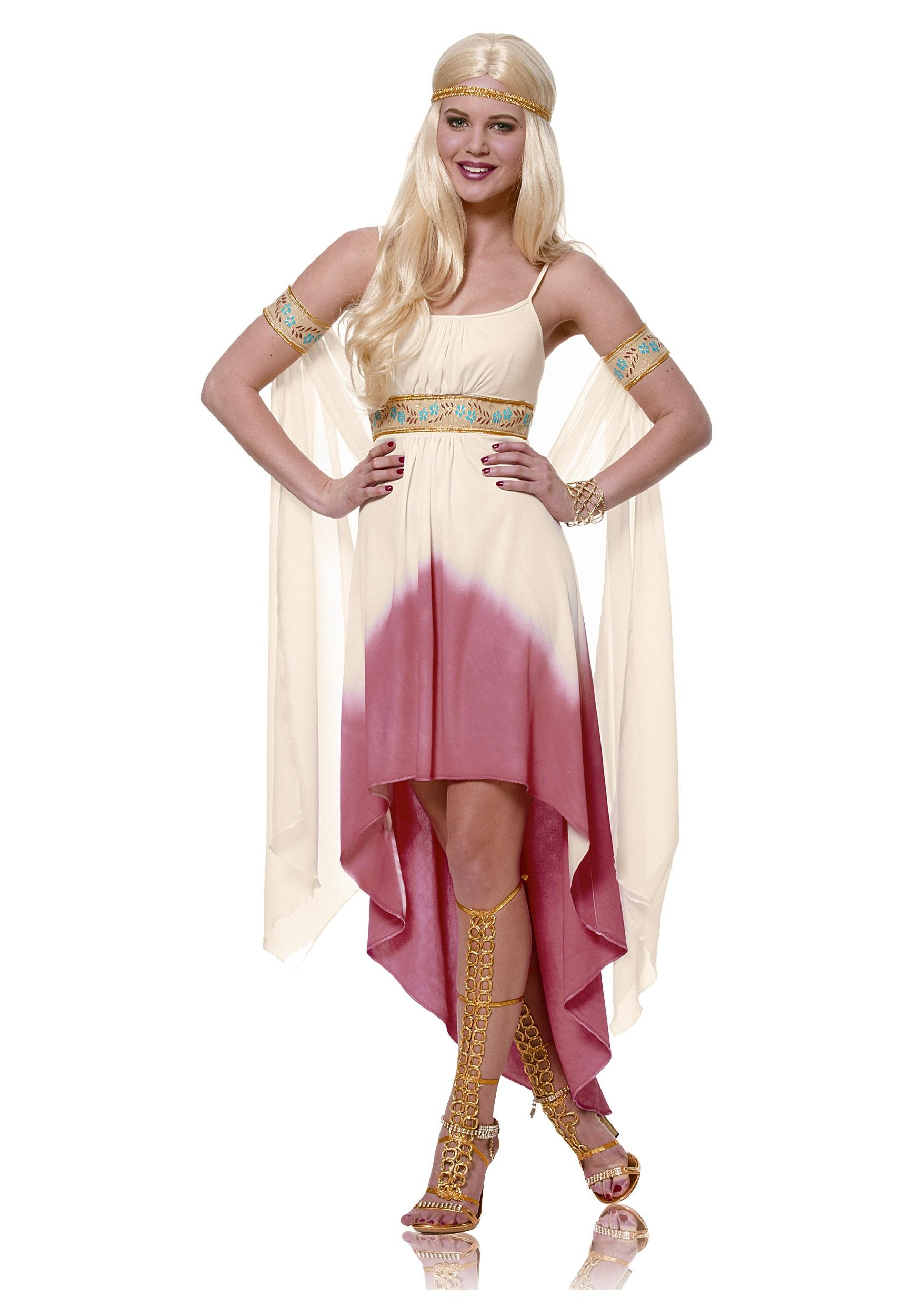 adult coral goddess costume