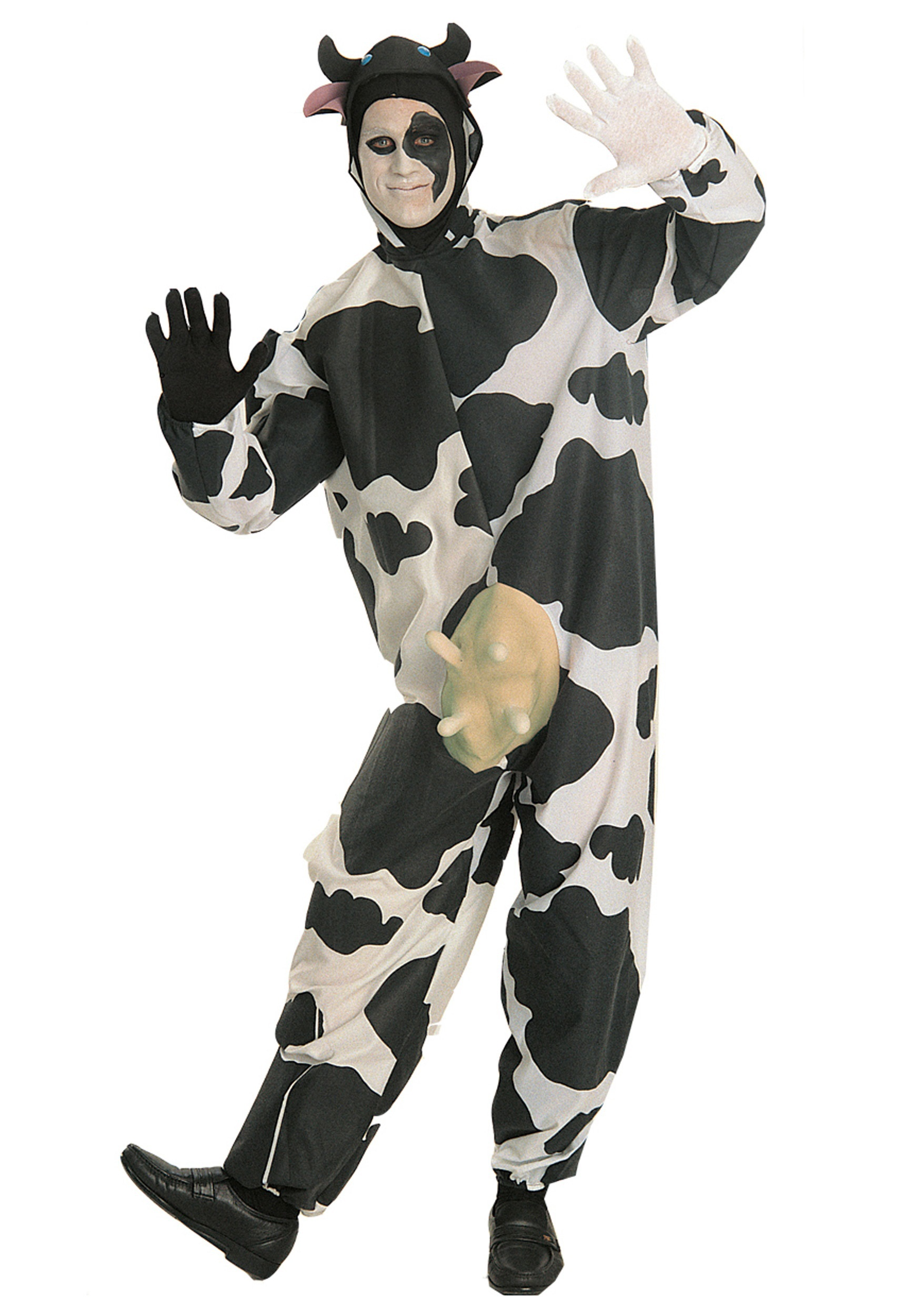 Adult Cow Costume  sc 1 st  Halloween Costumes & Adult Cow Costume - Halloween Costumes